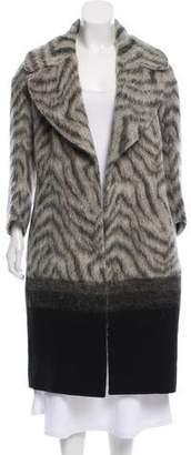 Fendi Wool-Blend Knee-Length Coat
