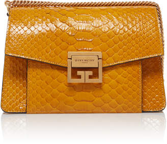 Givenchy GV3 Snakeskin Foldover Bag