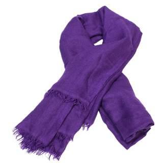 Chanel Purple Cashmere Scarves