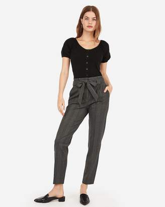 Express Fitted Button Front Tee