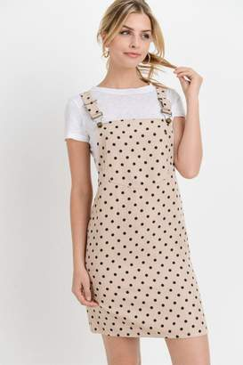 Paper Crane Papercrane Polkadot Overall Dress