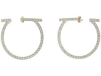 Salvatore Ferragamo Or Gan SM ST Earrings