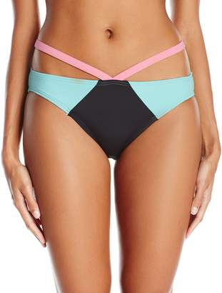 Coco Rave Women's Keep It Cute Sarah Strappy Bikini Bottom