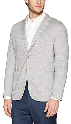 Bugatchi Men's Single Breasted Unconstructed Blazer