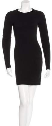 Kimberly Ovitz Rib Knit Long Sleeve Dress