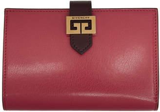 Givenchy Pink GV3 Medium Bifold Wallet
