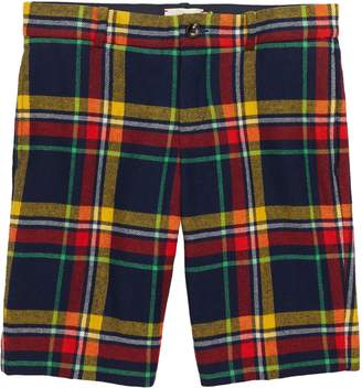 Gucci Plaid Bermuda Shorts