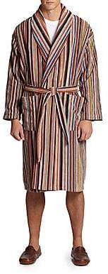 Paul Smith Men's Multi-Striped Robe