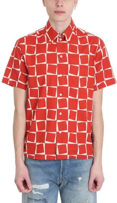 Levi's Red Cotton Shirt
