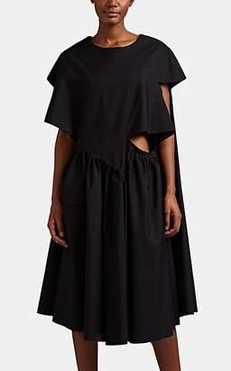 Maison Margiela Women's Cutout Relaxed T-Shirt Dress - Black