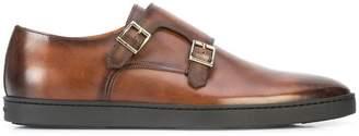 Santoni Fremont rubber sole shoes