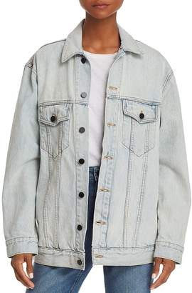 Alexander Wang Daze Bleached Denim Jacket