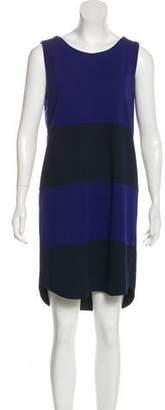 White + Warren Sleeveless Mini Dress