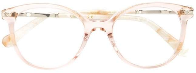 Chloé Kids round frame glasses