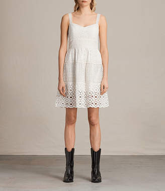 AllSaints Janey Tier Dress