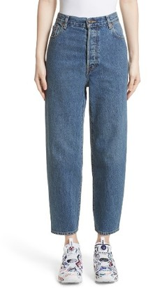 Women's Vetements X Levi's Classic High Waist Jeans $1,350 thestylecure.com