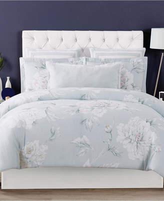 Christian Siriano Stem Floral Full/Queen 3 Piece Duvet Cover Set Bedding