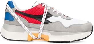 Diadora colour-block sneakers