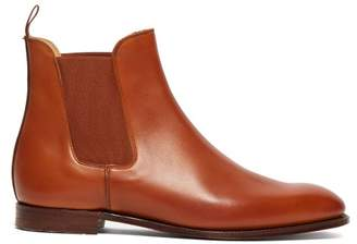 Crockett Jones Hillier Bartley - X Crockett & Jones Bonnie Leather Chelsea Boots - Womens - Tan