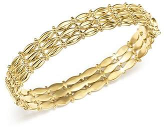 Temple St. Clair 18K Yellow Gold Vigna Bracelet with Diamond