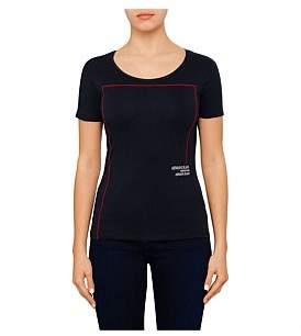 Armani Jeans Aj Rectangle Logo Tee