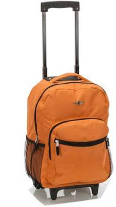 """Rockland 17"""" Rolling Backpack R01"""""""