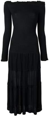 Altuzarra off the shoulder midi dress