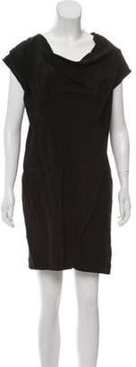Fabiana Filippi Silk-Blend Mini Dress