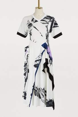 Koché Liberty Statue asymmetric dress