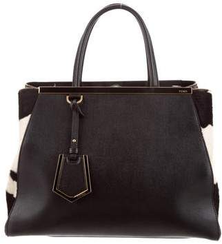 5a7b453c3a41 Pre-Owned at TheRealReal · Fendi Calf Hair 2Jours Bag