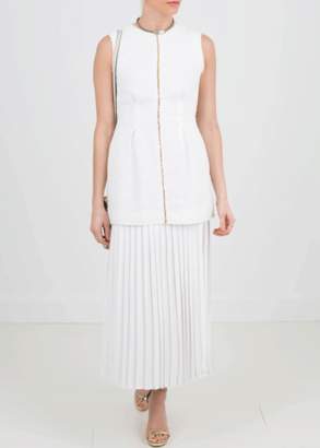 Mother of Pearl Rona Dress White