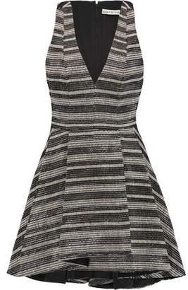 Alice + Olivia Tanner Woven Cotton-Blend Mini Dress