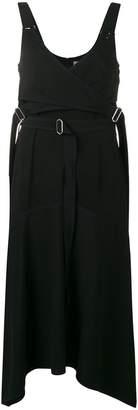 Sportmax ribbon strap bodice dress