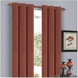 Fleur De Lis Living Cullinan Solid Blackout Grommet Single Curtain Panel