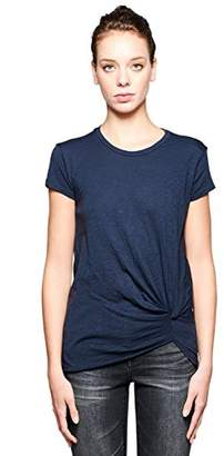 Stateside Women's Slub Jersey Twist Front Short Sleeve Tee