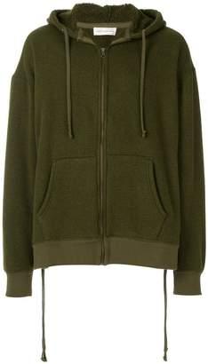 Faith Connexion zipped hooded sweatshirt