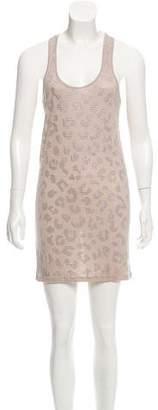 Torn By Ronny Kobo Embellished Mini Dress