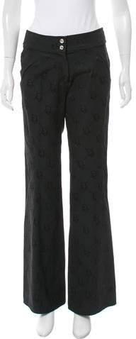 Christian Dior High-Rise Diorissimo Pants