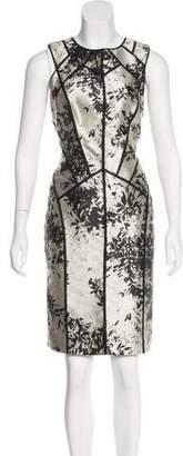 J. Mendel Patterned Sheath Dress