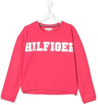 Tommy Hilfiger Junior logo sweatshirt