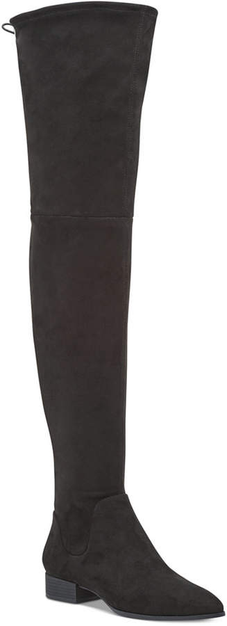 Dkny Tyra Wide Calf Over-The-Knee Boots, Created For Macy's