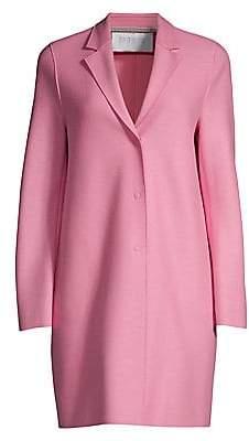 Harris Wharf London Women's Wool Trench Coat