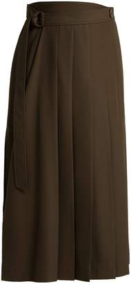 Joseph Fleet pleated midi skirt