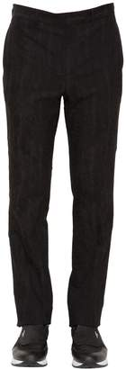 Givenchy Cotton & Wool Moiré Jacquard Pants