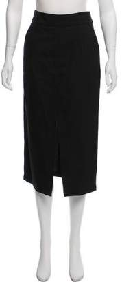Apiece Apart Textured Midi Skirt
