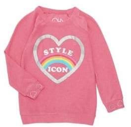 Chaser Little Girl's & Girl's Style Icon Sweatshirt