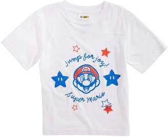 Nintendo Little Boys Super Mario Graphic Cotton T-Shirt