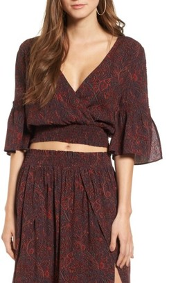 Women's Sun & Shadow Boho Crop Top $55 thestylecure.com