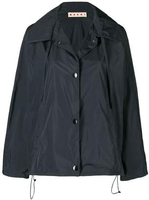 Marni zipped bomber jacket
