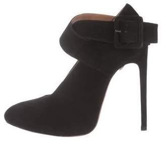 Alaia Suede Ankle Strap Pumps w/ Tags